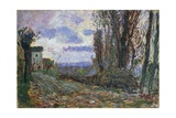 Autumn Sunset, 1895-1900 Giclee Print by Leonardo Bistolfi