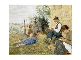 The Tale, 1891 Giclee Print by Niccolo Cannicci