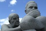 Vigeland Sculpture Park, Oslo, Norway, 2006 Photographic Print