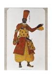 Eunuch, Costume Designed Giclee Print by Leon Bakst