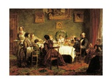 Dining Room Giclee Print by William Powell Frith