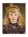 Portrait of a Young Girl Giclee Print by James Charles