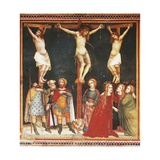 Crucifixion, Fresco Giclee Print by Ferrer Bassa