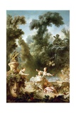 Progress of Love, Chase Giclee Print by Jean-Honoré Fragonard