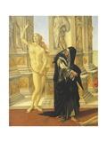 Slander, 1494-1495 Giclee Print by Sandro Botticelli