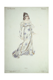 Costume Design in 'Tosca' Giclee Print by Adolfo Hohenstein