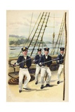 The Future King Geoge V as a Naval Cadet, 1877 Giclee Print by Henry Payne