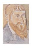 Portrait of Paul Serusier, 1893 Giclee Print by Emile Bernard