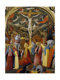 Kreuzigung Giclée-Druck von Antonio Vivarini