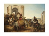 Ronda, Spanish Travellers, 1864 Giclee Print by Richard Ansdell