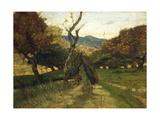 Woodpile, Circa 1874 Giclee Print by Giovanni Fattori