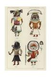 Keme, Hotcani, Siwap, Tawa Giclee Print
