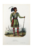Asseola, a Seminole Leader, 1899 Giclee Print by Thomas Loraine Mckenney