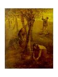 Gathering Apples Giclee Print by Jean-François Millet