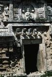 Temple Portal with Reliefs, Chichen Itza Photographic Print