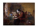 The Antiquarian, 1863 Giclee Print by Charles Cattermole