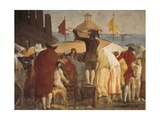 The New World Giclee Print by Giandomenico Tiepolo