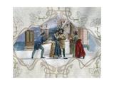 Scene from La Boheme, Opera Giclee Print by Giacomo Puccini