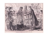Marriage of Henry I and Matilda Ad 1102 Giclee Print by Charles Ricketts