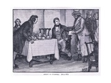 Arrest of O'Connell Ad 1831 Giclee Print by Henry Marriott Paget