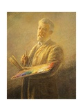 Self Portrait, 1911 Giclee Print by Gaetano Previati