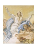 The Assumption of Mary Giclee Print by Giambattista Tiepolo