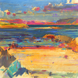 Iona to Mull, 2012 Giclee Print by Peter Graham