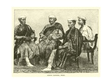 Hindoo Bankers, Delhi Giclee Print