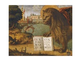 The Lion of St Mark Giclee Print by Vittore Carpaccio