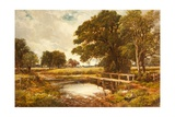 A Hampshire Ford, 1891 Giclee Print by Edmund Morison Wimperis