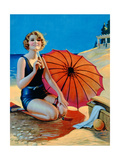 Inviting, Published by F.A.S., C.1938 Giclee Print