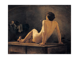 Male Nude, 1875-1885 Giclee Print by Demetrio Cosola
