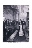 Queen Caroline Entering the House of Lords Giclee Print by Henry Marriott Paget