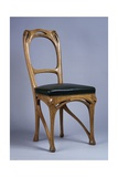Art Nouveau Style Chair, 1900 Giclee Print by Hector Guimard