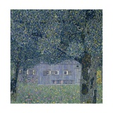 Farmhouse in Upper Austria Giclee Print by Gustav Klimt