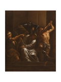 The Crowning with Thorns, C.1700 Giclee Print by Francesco Trevisani