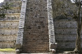 Steps of Tomb of High Priest, Chichen Itza Photographic Print