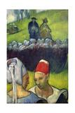 Breton Women Giclee Print by Emile Bernard