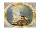 Jacob Dreaming Giclee Print by Giovanni Battista Tiepolo