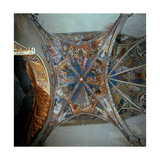 Frescoes from the Ceiling of the Cavalcabò Chapel Giclee Print by Bonifacio Bembo