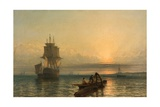 Sunrise at Sea, 1861–-66 Giclee Print by Henry Dawson