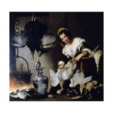 The Cook, Ca 1625 Giclee Print by Bernardo Strozzi