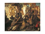 Hunting on Nile Giclee Print by Hans Makart
