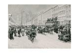 Nevsky Prospect Giclee Print by Frederic De Haenen