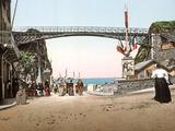 La Tranchee Des Anglais in Granville, 1890-1900 Photographic Print
