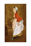 The Chambermaid, 1872 Giclee Print by Gustave Jacquet