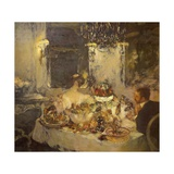 Champagne Giclee Print by Gaston La Touche