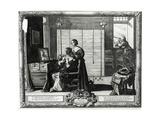 Visus La Veve, 17th Century Giclee Print by Abraham Bosse