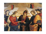 Marriage of Virgin Giclee Print by  Raphael