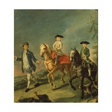 A Horse Ride Giclee Print by Pietro Longhi